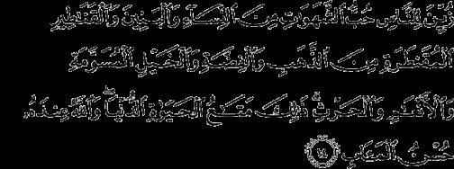Surah Ali-'Imran (3:14)